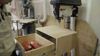 How To Make A Table Top For Your Drill Press With A Drawer