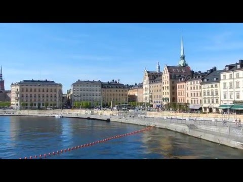 Stockholm - City Tours - Western Gamla Stan Waterfront 2016 05 08