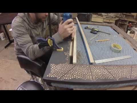 Making a Huge Mirror Frame
