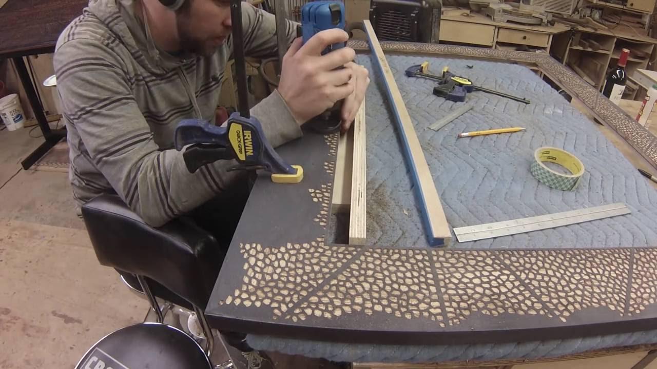 making a huge mirror frame youtube. Black Bedroom Furniture Sets. Home Design Ideas