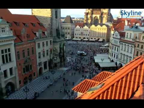 Live webcam from Prague - Time Lapse