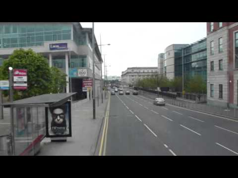 A short bus trip in Belfast