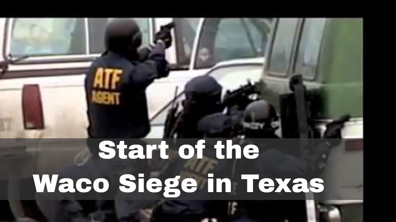 28th February 1993: Beginning of the Waco siege of the Branch Davidian  Church in Texas