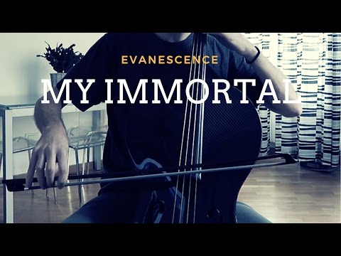 Evanescence - My Immortal for cello and piano (COVER)