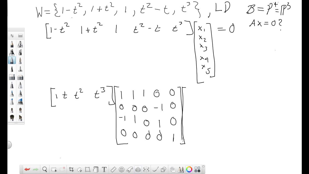 how to know if vectors are linearly independent