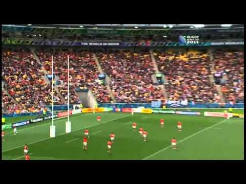 RWC 2011 France vs Tonga