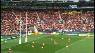 RWC 2011- France vs Tonga