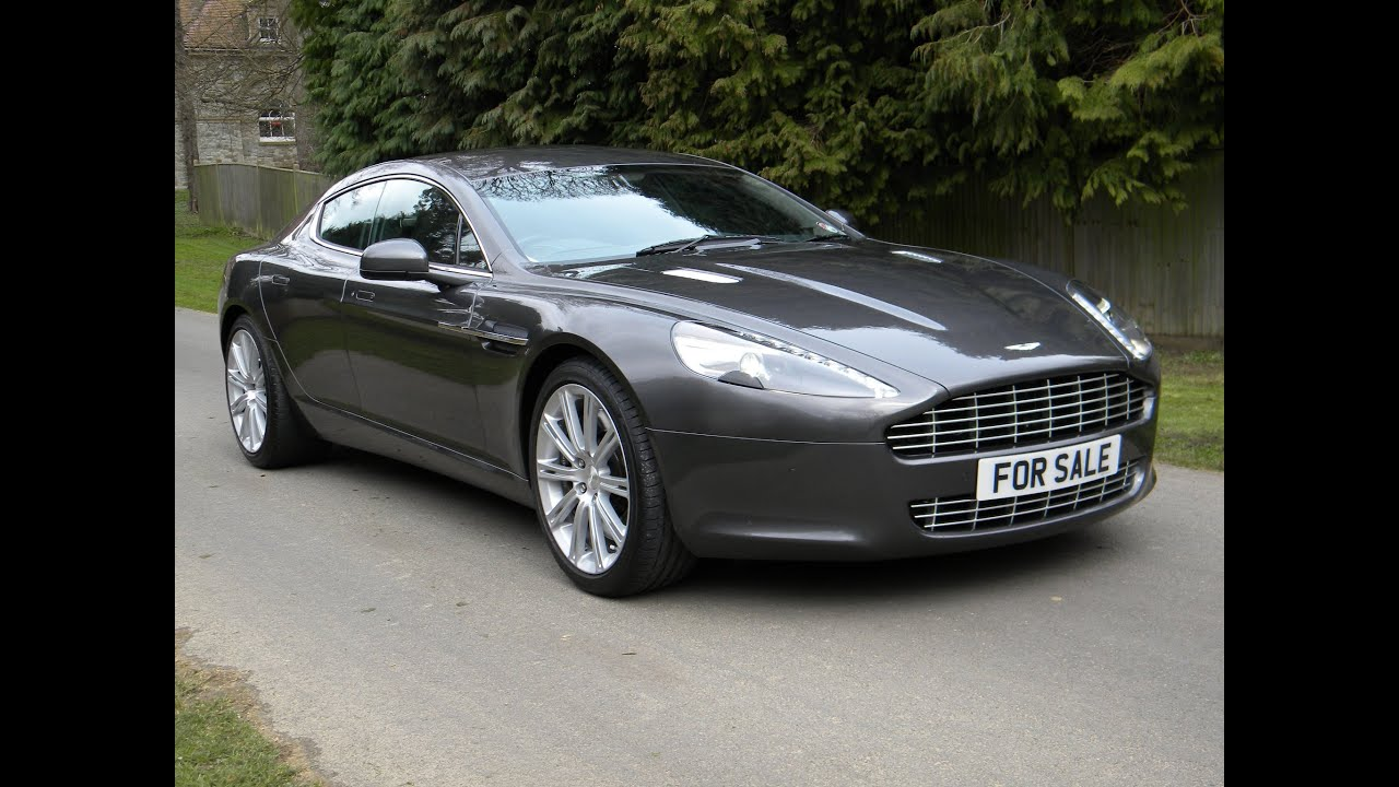 2012 Aston Martin Rapide V12 WALK AROUND - YouTube