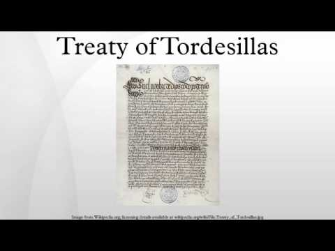the treaty of tordesillas The town that split the world in  the town's location was probably what made it the perfect seat for the negotiations of the historic treaty of tordesillas.