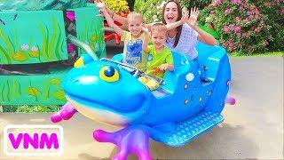 Sân chơi ngoài trời tốt nhất cho trẻ em Công viên giải trí Thời gian vui chơi với gia đình Vlad