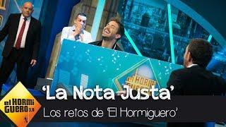 Pablo Alborán y Pablo Motos se 'pican' en 'La Nota Justa' - El Hormiguero 3.0