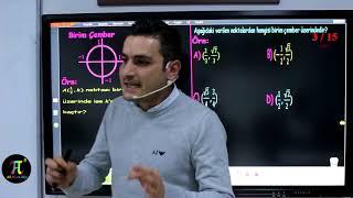 Trigonometri 1(Açı,Esas Açı,Birim Çember) I Ali Ahsen Akti