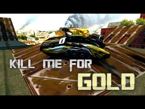 Kill me for GOLD! I am Godmode_ON! | Tanki Online - танки Онлайн