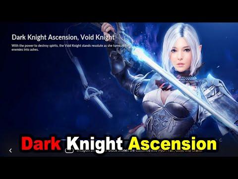 "Black Desert Mobile - Dark Knight Ascension ""Void Knight"""