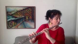 Guilherme Araujo de Almeida  - 4 peças para flauta (Sarah Hornsby, flute)