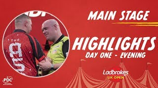 Highlights from a brilliant session of darts the main stage in minehead at 2020 uk open, with top 32 players world entering tournament