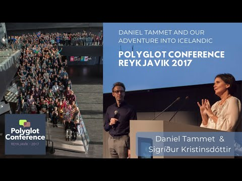 Daniel Tammet and our adventure into Icelandic