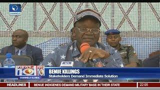 Stakeholders Demand Immediate Solution To Benue Killings Pt 1 | News@10 |