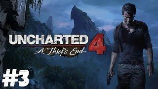 Uncharted 4: A Thief's End. Стрим-прохождение #3