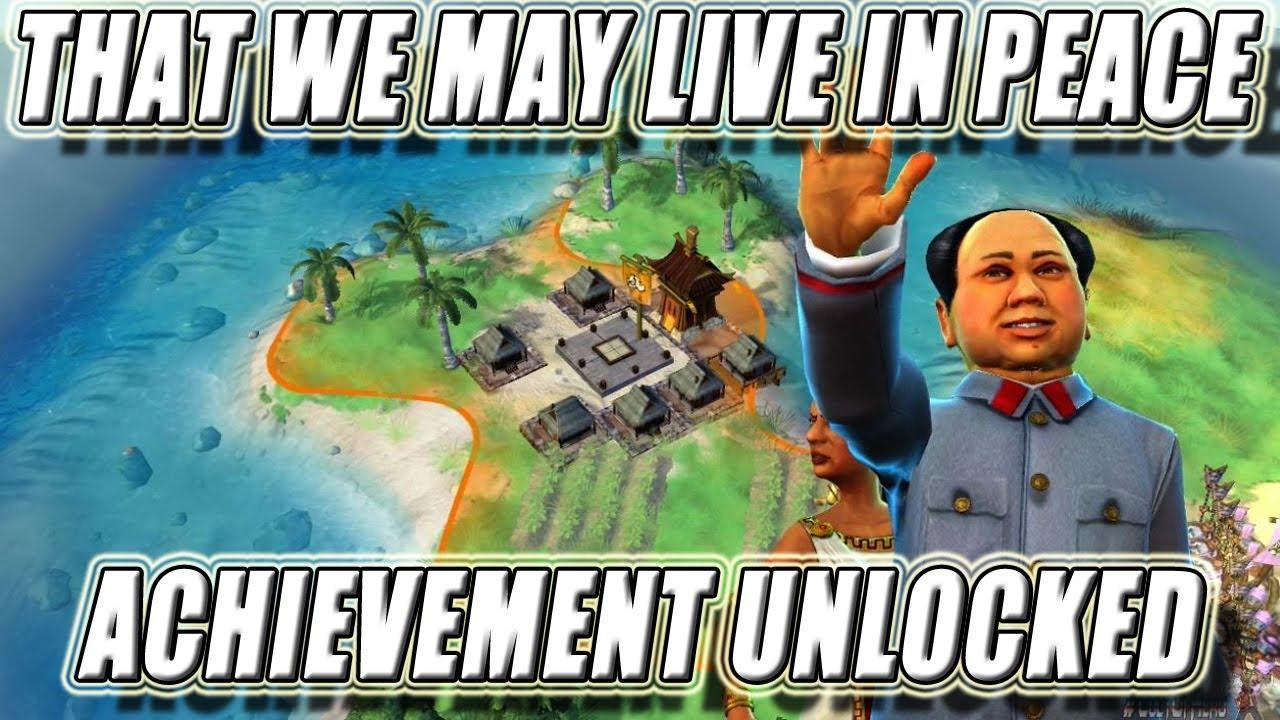Achievement guide for civilization vi (with timestamps) youtube.