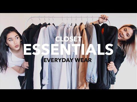 CLOSET ESSENTIALS: Everyday Wear