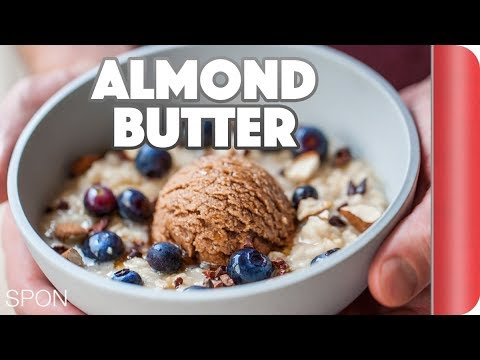 Homemade Almond Butter And Breakfast Oats