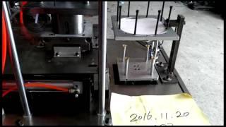 Машина для производства бумажных лотков для выпечки квадратной формы