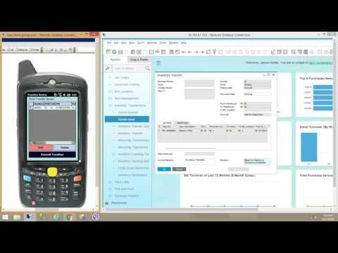 SBO4 PDA webinar on bin and stock transfers for SAP Business one HANA