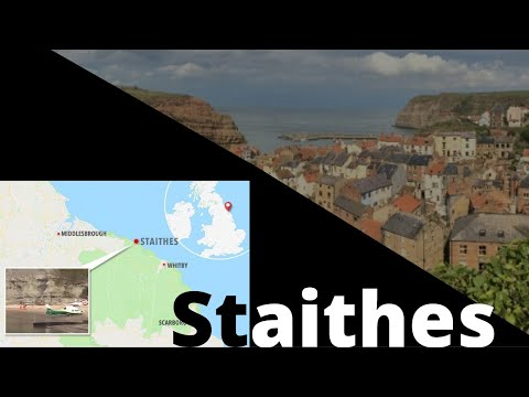 My Walking Vlog, Staithes