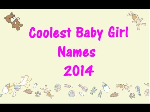 COOLEST BABY GIRL NAMES ! 🌺 Baby Names!  ⭐