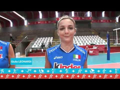 Nazionale Femminile di Volley: Kinder+Sport intervista le Azzurre!