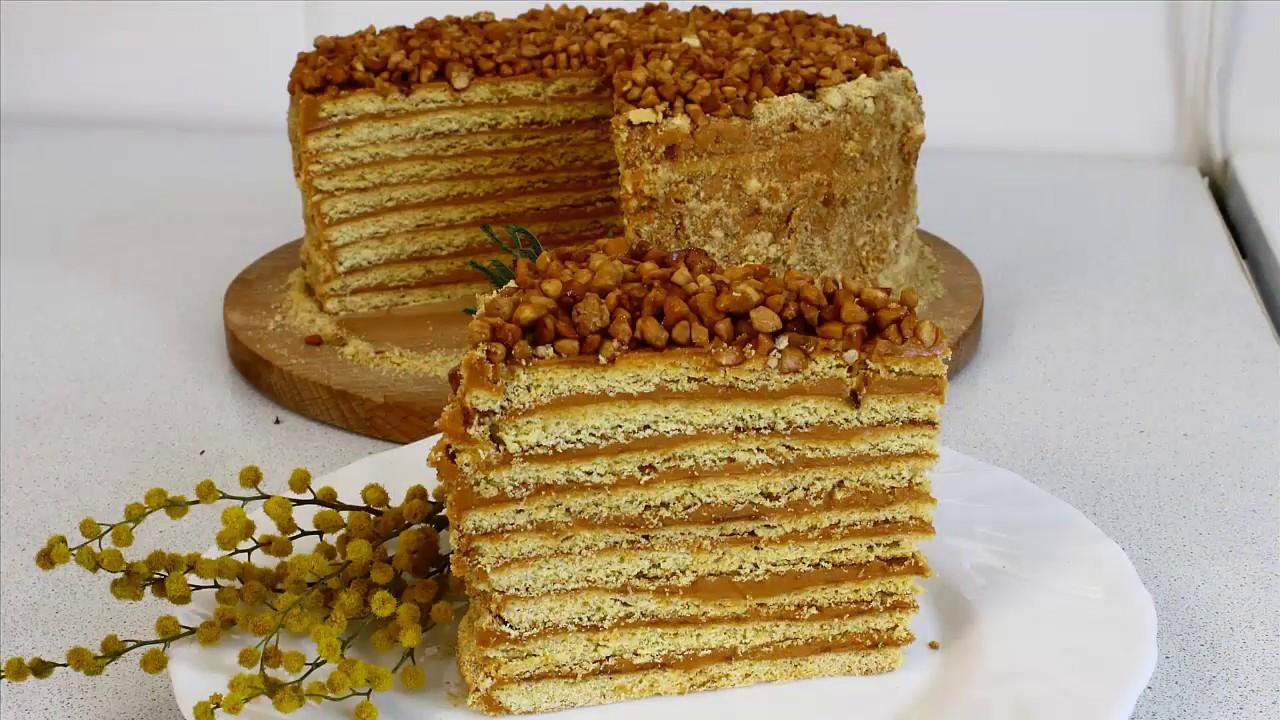 Торт МЕДОВИК (Рыжик) на сковороде с СЕКРЕТОМ! Вкусно и ...