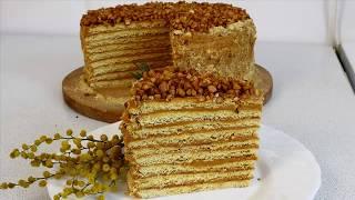 Торт МЕДОВИК (Рыжик) на сковороде с СЕКРЕТОМ! Вкусно и просто!