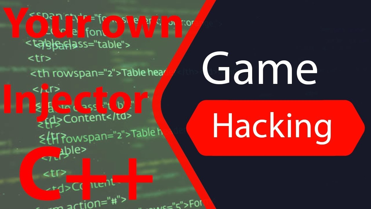 How To Make Your Own Injector Beginner C Game Hacking Tutorial