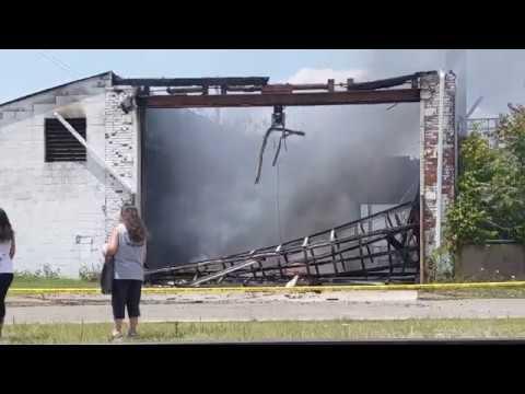 Hamilton Ohio Warehouse Fire July 25, 2019