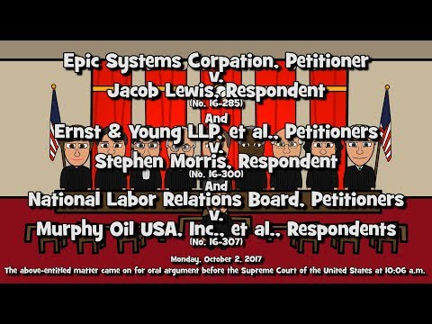 Epic Systems Corp. v. Lewis (SCOTUS-Toons)
