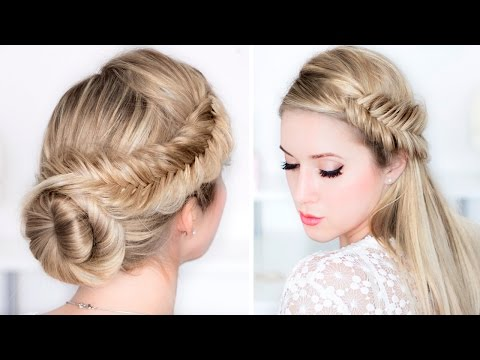 prom/wedding/party-hairstyles-★-easy-day-to-night-udpo-★-fishtail-braid-updo-hair-tutorial