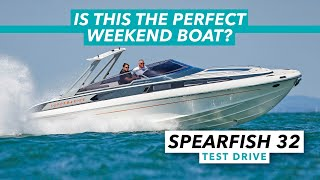 Is this the perfect weekender? | Supermarine Spearfish 32 test drive review | Motor Boat & Yachting