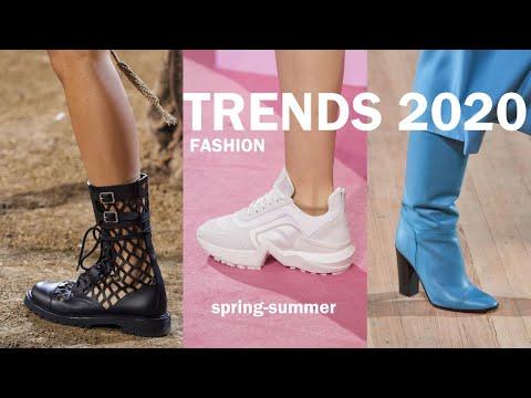 Модная ОБУВЬ весна-лето 2020. Мода 2020 (1ч) | Shoes Fashion Trends 2020