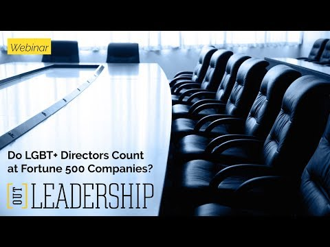 Quorum Webinar: Do LGBT+ Directors Count in Fortune 500 Companies?