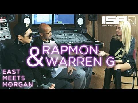 Rapmon (BTS) & Warren G - EAST MEETS MORGAN Ep. 10