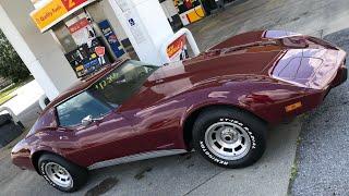 Test Drive 1977 L-82 Corvette $12,900 Maple Motors / Видео