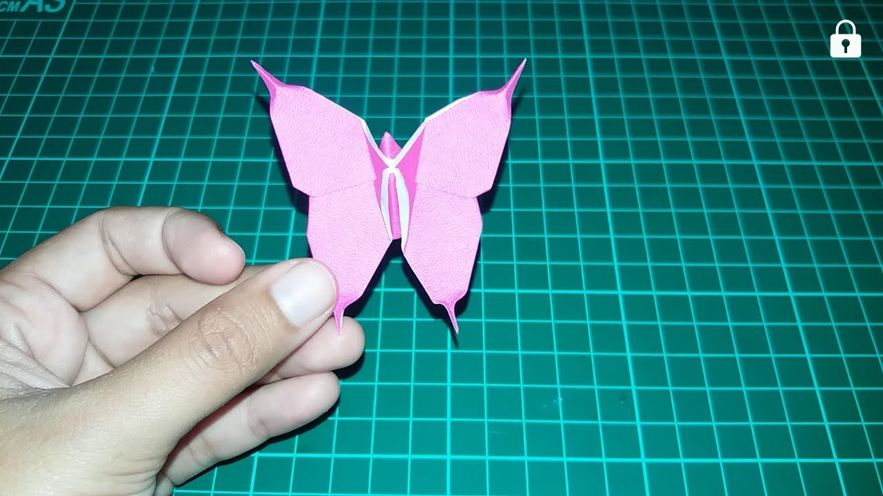 Simpel Cara Membuat Origami Kupu Kupu How To Make Origami Butterfly Design 1 Youtube