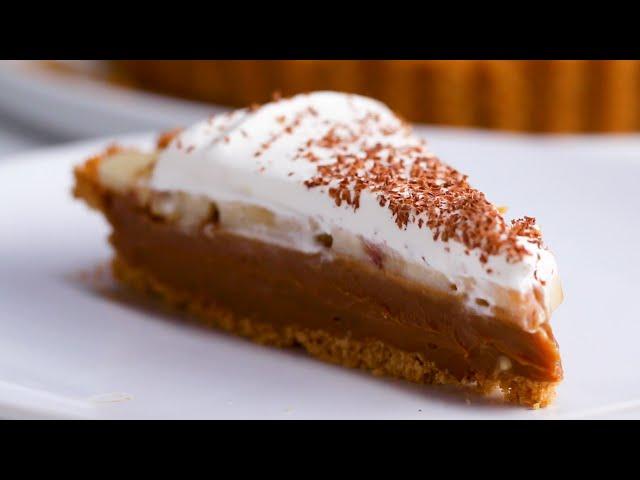 Delicious Banoffee Pie •Tasty