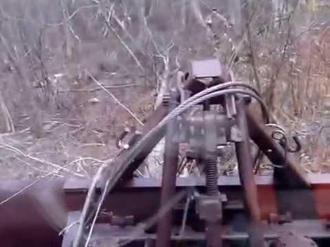 Лебедка на мтз своими руками видео