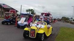 2017 Sun City Center Florida golf cart parade