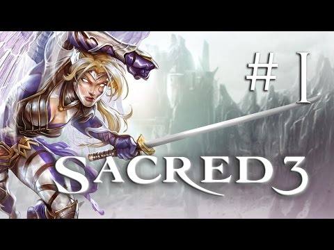 Sacred 3 Gameplay #1 - Let's Play Sacred 3 German
