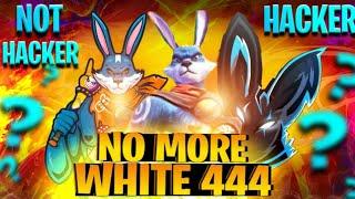NO MORE WHITE 444 💔    WHITE 444 HACKER OR NOT HACKER?   Garena Free Fire #THEFINALROUND