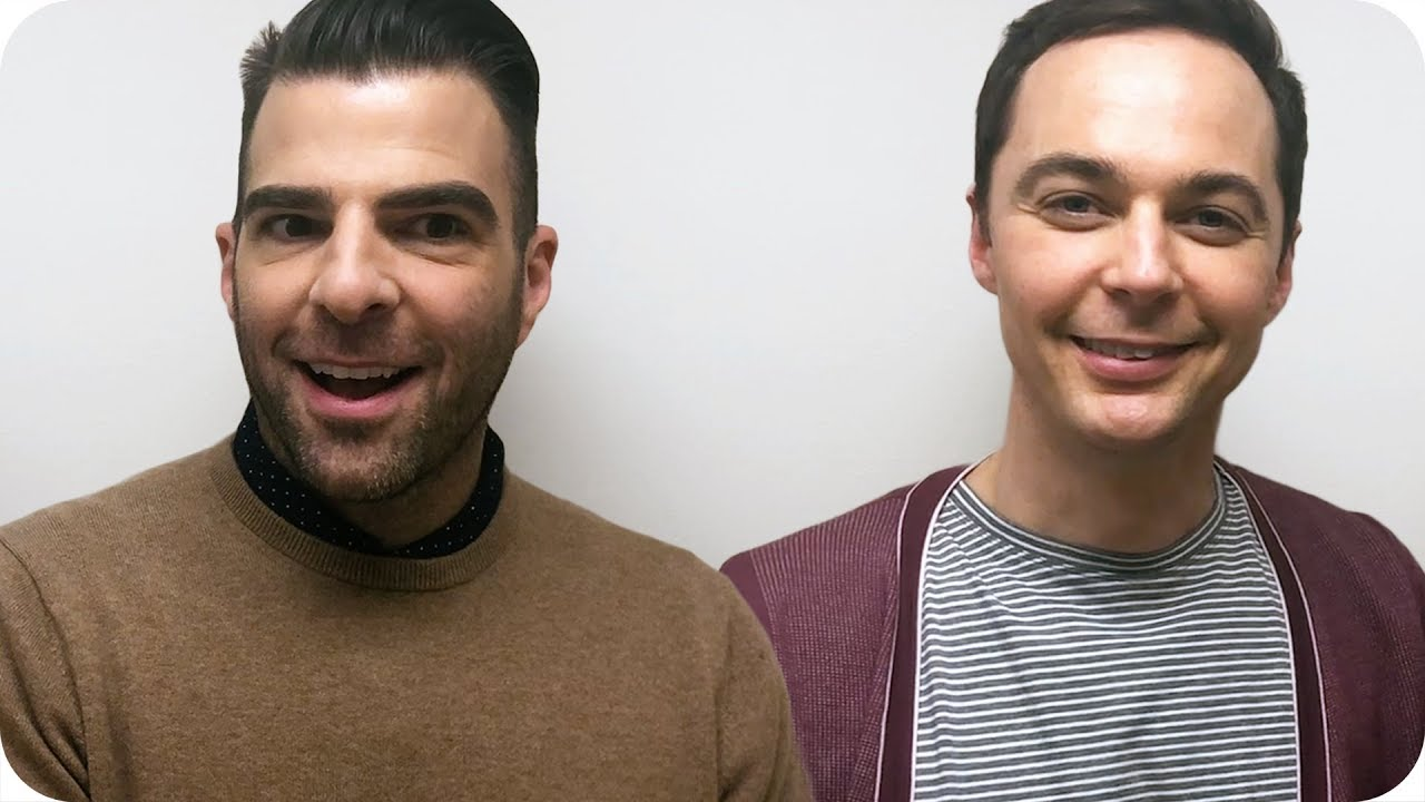 jim parsons zachary quinto invite you to broadway omaze youtube