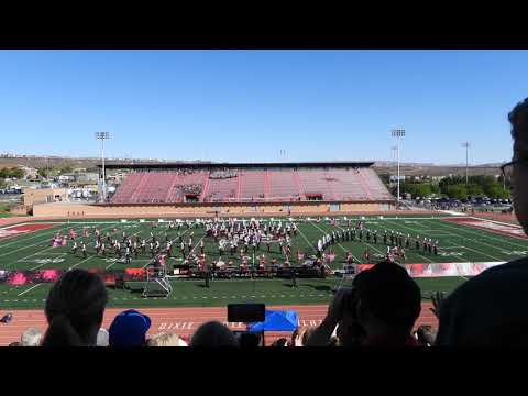 American Fork High School Marching Band - Red Rocks Preliminaries 2018